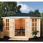 more details on Kestrel Wooden Cabin - 10 x 10ft.