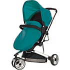 more details on Obaby Chase 3 Wheeler Pramette - Black and Turquoise.