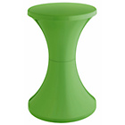 more details on Habitat Tam Tam Plastic Stool - Green.