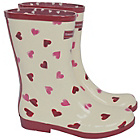 more details on Emma Bridgewater Women's Short Heart Wellies - Size 6.