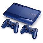 more details on PS3 500GB Azurite Blue Console with 2 DualShock Controllers.