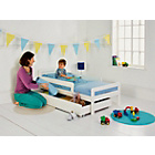 more details on Ellis Storage Toddler Bed Frame - White