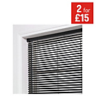 more details on ColourMatch PVC Venetian Blind - 3ft - Jet Black.