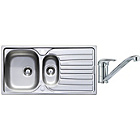 more details on Lumex Kitchen Sink with 1.5 Bowl and Single Lever Tap.