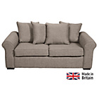 more details on Erinne Fabric Pillowback Sofa Bed - Grey.