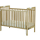 more details on Saplings Maria Folding Cot - Beech.