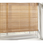 more details on Wooden Venetian Blind 90 x 160cm - Natural.