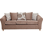 more details on Isabelle Large Fabric Sofa - Mink.