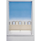 more details on Collection Beach Hut Roller Blind - 6ft - Multicoloured.