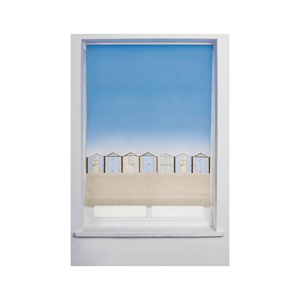 Buy Collection Beach Hut Roller Blind 6ft