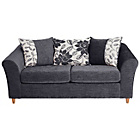 more details on Isabelle Fabric Metal Action Sofa Bed - Charcoal.