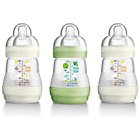 more details on MAM Anti-Colic 160ml Baby Bottles - White - 3 Pack.