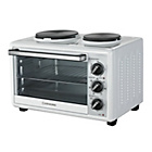 more details on Cookworks Mini Oven with Hob - White.