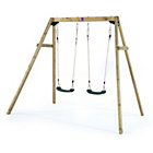 more details on Plum Wooden Double Swing Set.