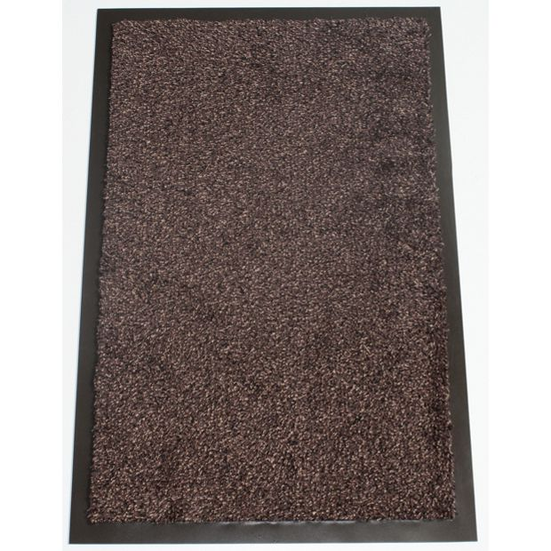 buy washamat dark brown doormat 120 x 90cm at. Black Bedroom Furniture Sets. Home Design Ideas