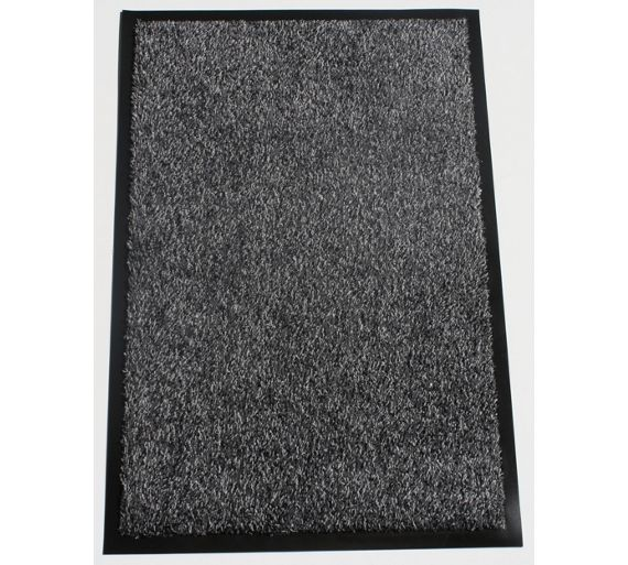 buy washamat anthracite doormat 90 x 60cm at