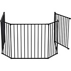 more details on BabyDan XL Hearth Gate / Configure Gate - Black.