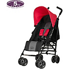 more details on Obaby Atlas Black and Grey Stroller - Red.