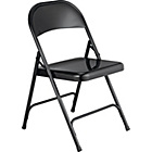 more details on Habitat Macadam Black Metal Folding Chair.