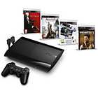 more details on PS3 500GB Console 4 Game Bundle with Hitman and HDMI Cable.