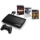 more details on PS3 500GB Console 3 Game Bundle with Walking Dead.