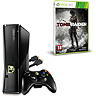 more details on Xbox 360 4GB Console with Tomb Raider and HDMI Cable.