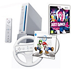more details on Nintendo Wii, Wii Party, Wii Sports & Just Dance 4 - White.
