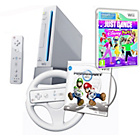 more details on White Wii Console, Wii Party, Wii Sports & Just Dance Disney