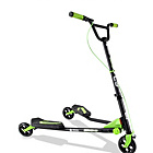 more details on Yvolution Fliker C3 Scooter - Matte Black/Green.