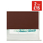 more details on ColourMatch Thermal Blackout Roller Blind - 2ft - Chocolate.