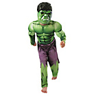 more details on Padded Chest Hulk Dress Up 5-6 Years