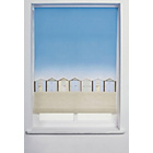 more details on Collection Beach Hut Roller Blind - 3ft - Multicoloured.