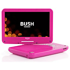 more details on Bush 10in Pink Portable DVD Player