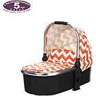 more details on Obaby Chase Carrycot - ZigZag Orange.