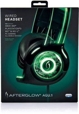 Afterglow Wired Universal Headset PS3/Xbox 360