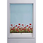 more details on HOME Poppy Meadow Roller Blind - 3ft - Multicoloured.