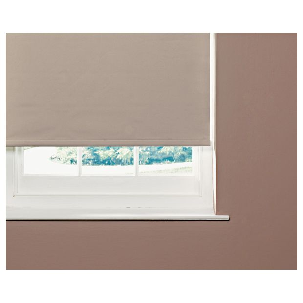 Buy Colourmatch Thermal Blackout Roller Blind 6ft Cafe