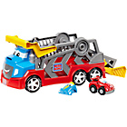 more details on Mega Blocks First Builders Tiny 'n Tuff Race 'n Chase Rig.