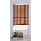 more details on HOME Eastern Style Bamboo Roller Blind - 4ft - Natural.
