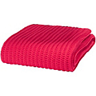 more details on Catherine Lansfield Chunky Knit Throw 125x150cm - Red.