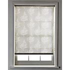 more details on 4ft Fern Semi Privacy Roller Blind - White.