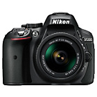more details on Nikon D5300 24MP DSLR Camera with 18-55mm VR Lens - Black