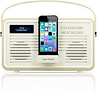 more details on View Quest Retro DAB Radio with Lightning iPod Dock - Cream.