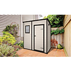 more details on Keter Designer Pent Plastic Garden Shed - 6 x 4ft.