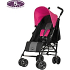 more details on Obaby Atlas Black and Grey Stroller - Pink.