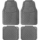 more details on Cosmos Duro All Weather 4 Piece Car Mat Set - Grey.