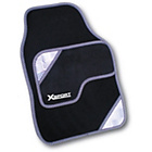 more details on Rezistanz X Sport 4 Piece Car Mat Set - Black.