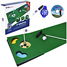more details on PGA Tour 6ft Putting Mat with Collapsible Putter and DVD.