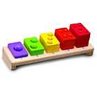 more details on Wonderworld Wooden Toys Wooden Educational 1 5 Stack.
