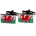more details on Welsh Flag Cufflinks.